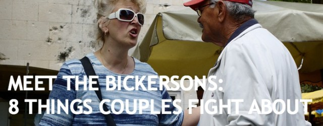 Meet The Bickersons: 8 Things Couples Fight About