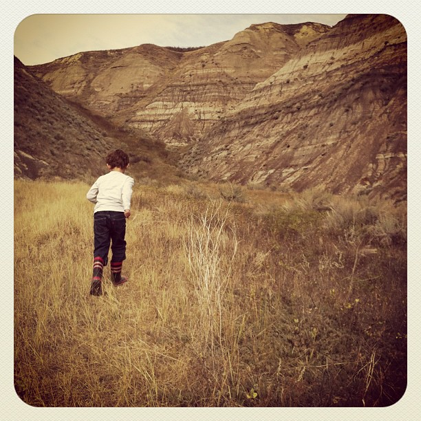Geocaching in the Badlands