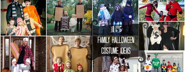 15 Family Halloween Costume Ideas