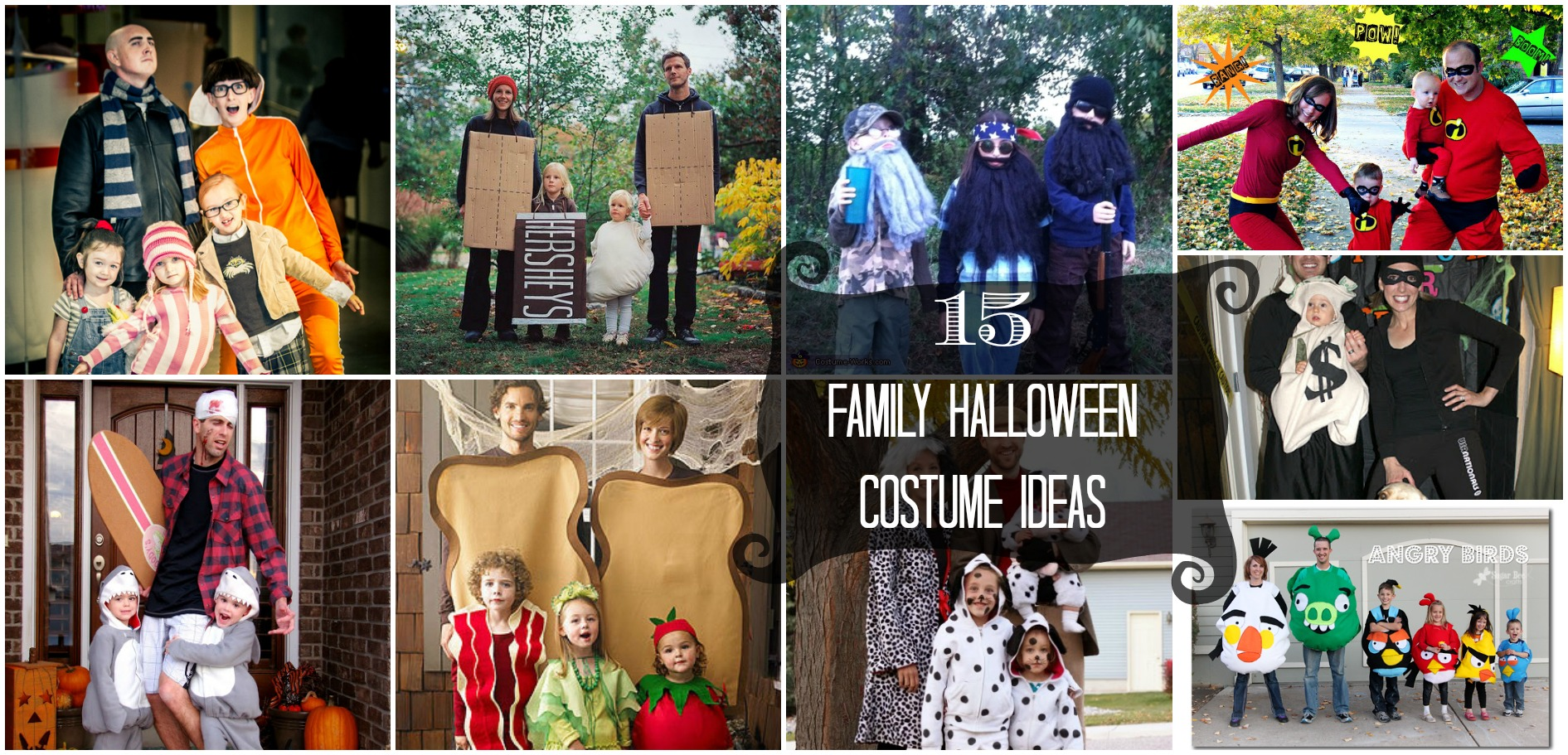 15 Family Halloween Costume Ideas