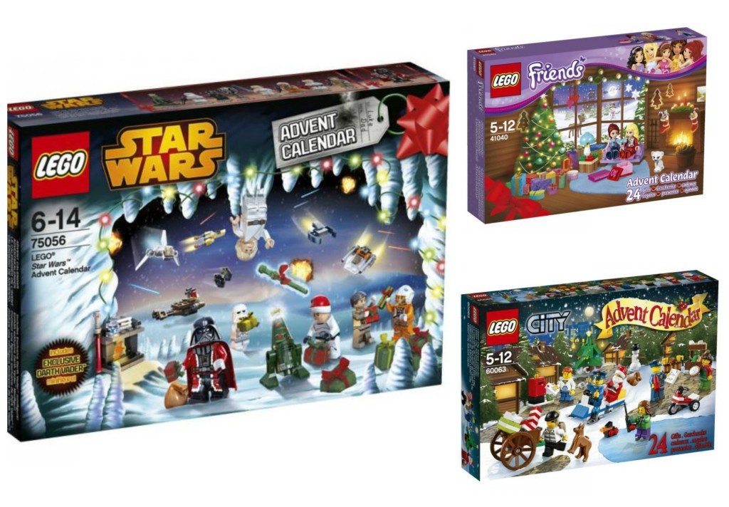 This year there are 3 LEGO Advent Calendars to choose from: LEGO Star ...