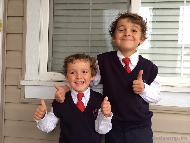 Back To School Brothers