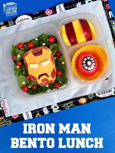 Iron Man Bento Lunch