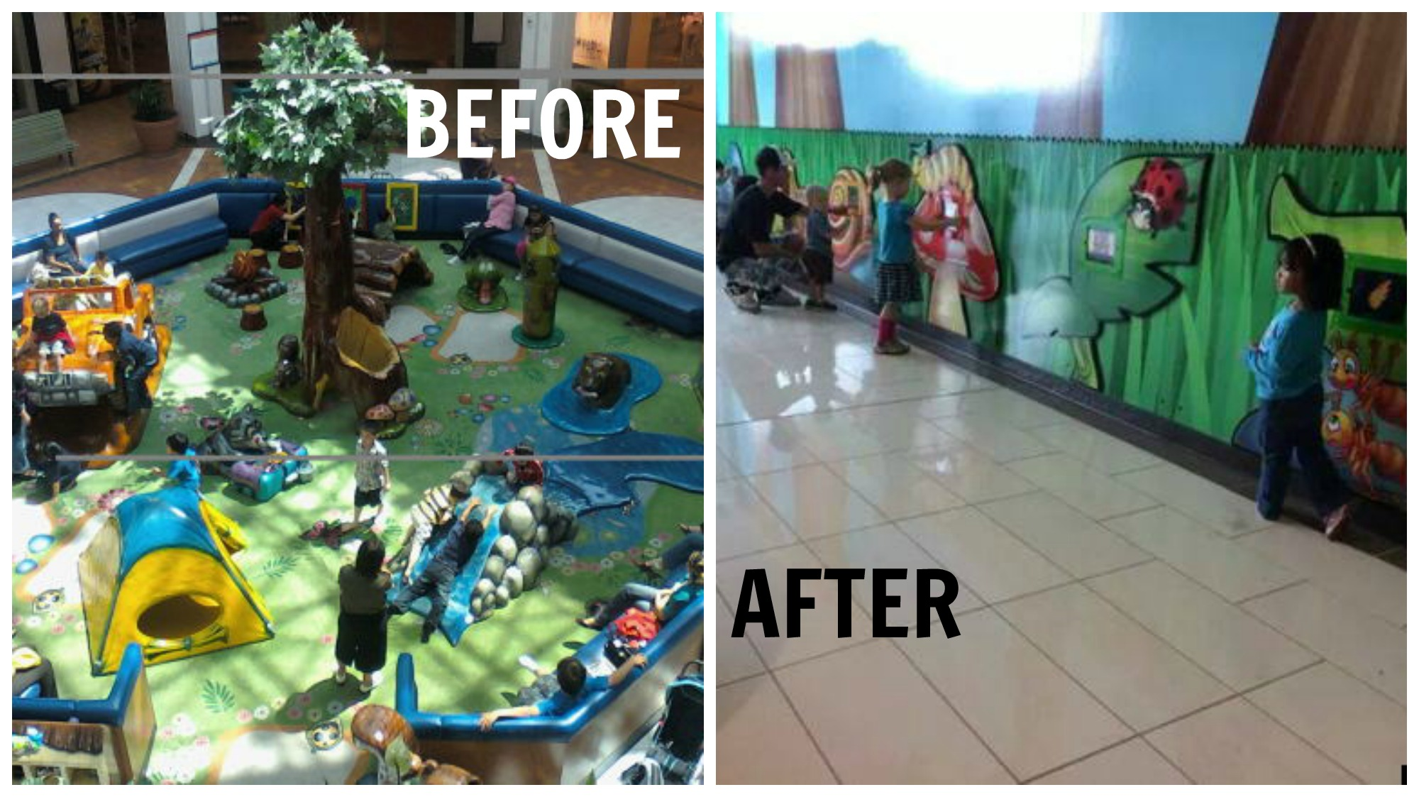 Mall Replaces Playgrounds With iPads