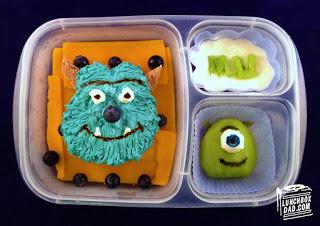 Monsters U Bento Lunch