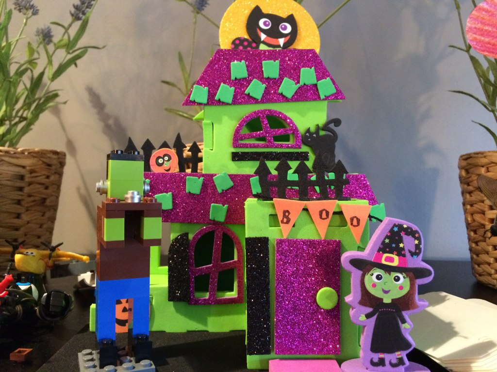 Haunted Castle Craft from Michaels