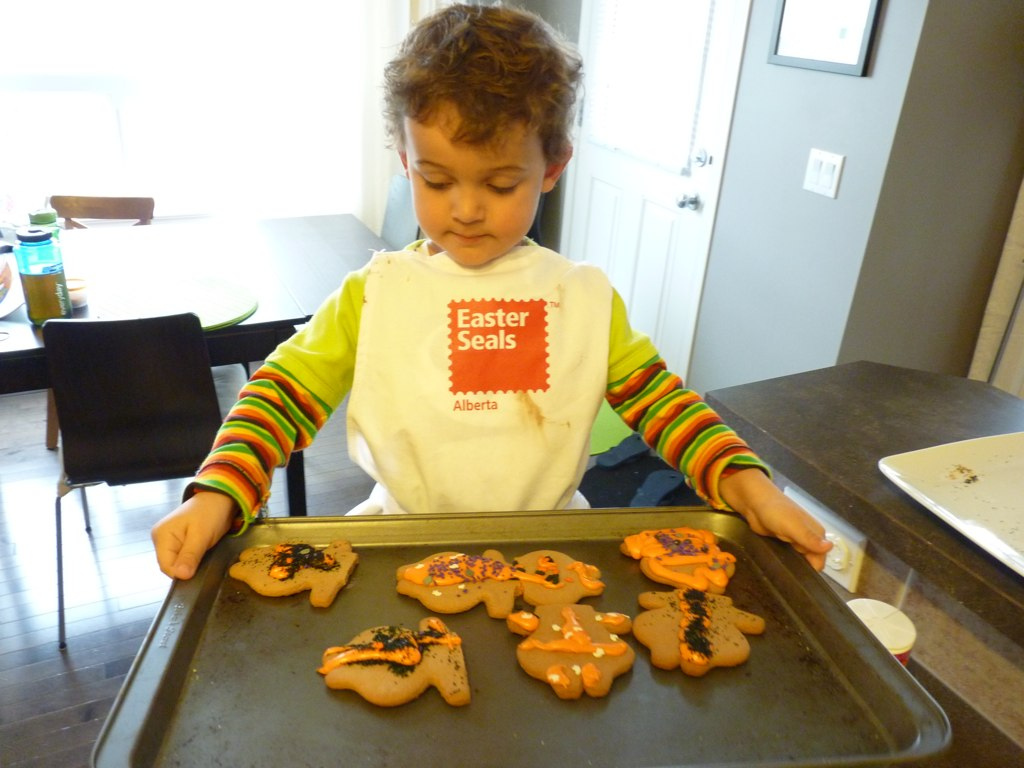 Headless Gingerbread Men Cookies