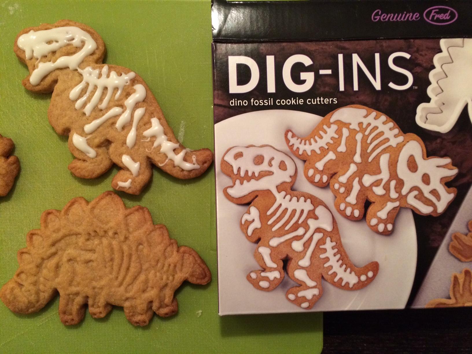 Dig-In Dinosaur Cookies