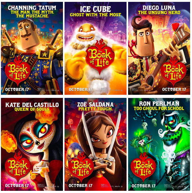 See it or skip it the book of life and the story of dia for The book of life characters names