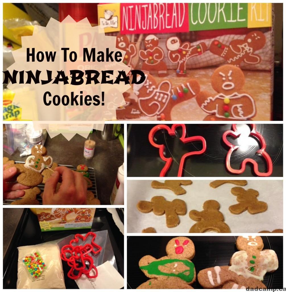 Ninjabread Men Cookies