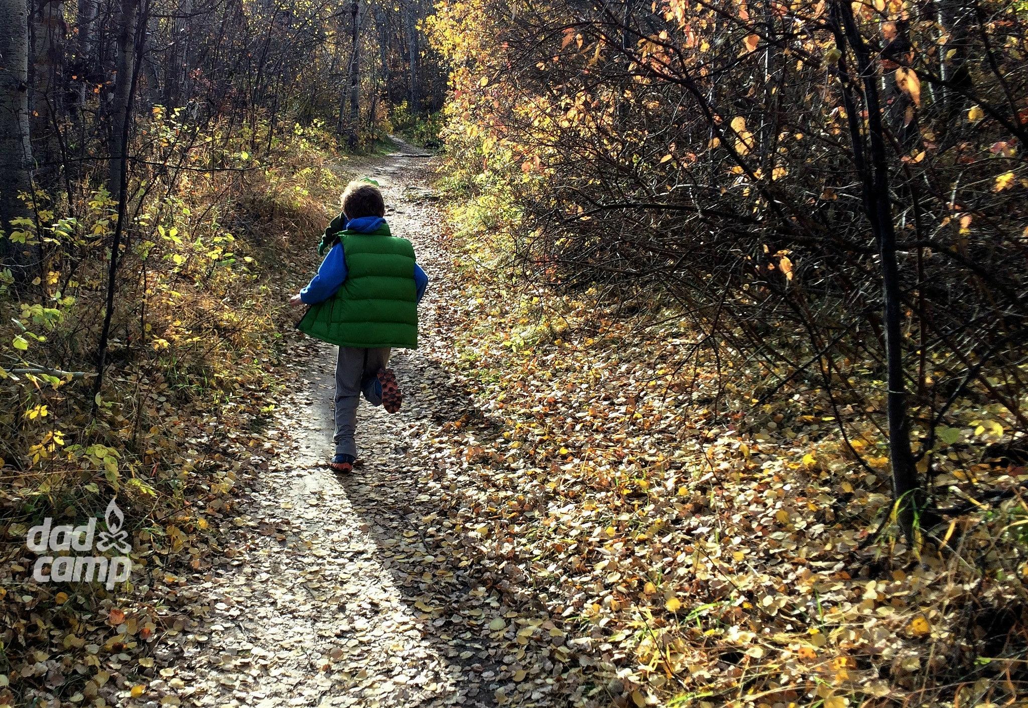 Running Paskapoo trails