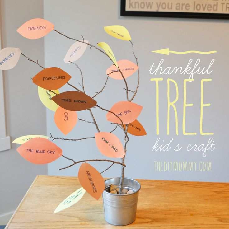 Thankful Tree Thanksgiving Craft