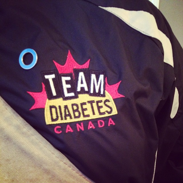 Proud to wear the blue circle today. #wdd #diabetes #banting #teamdiabetes