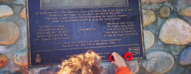 Remembrance Day, Signal Hill
