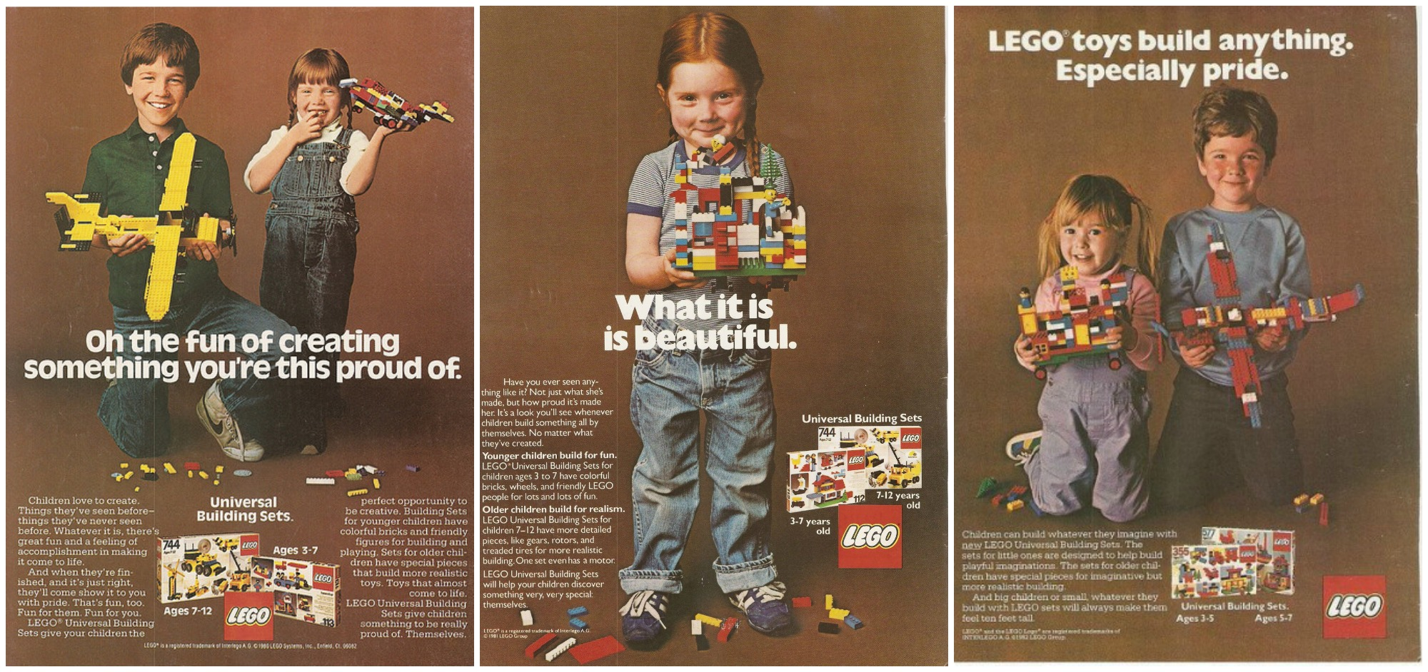 LEGO Ads from 1981