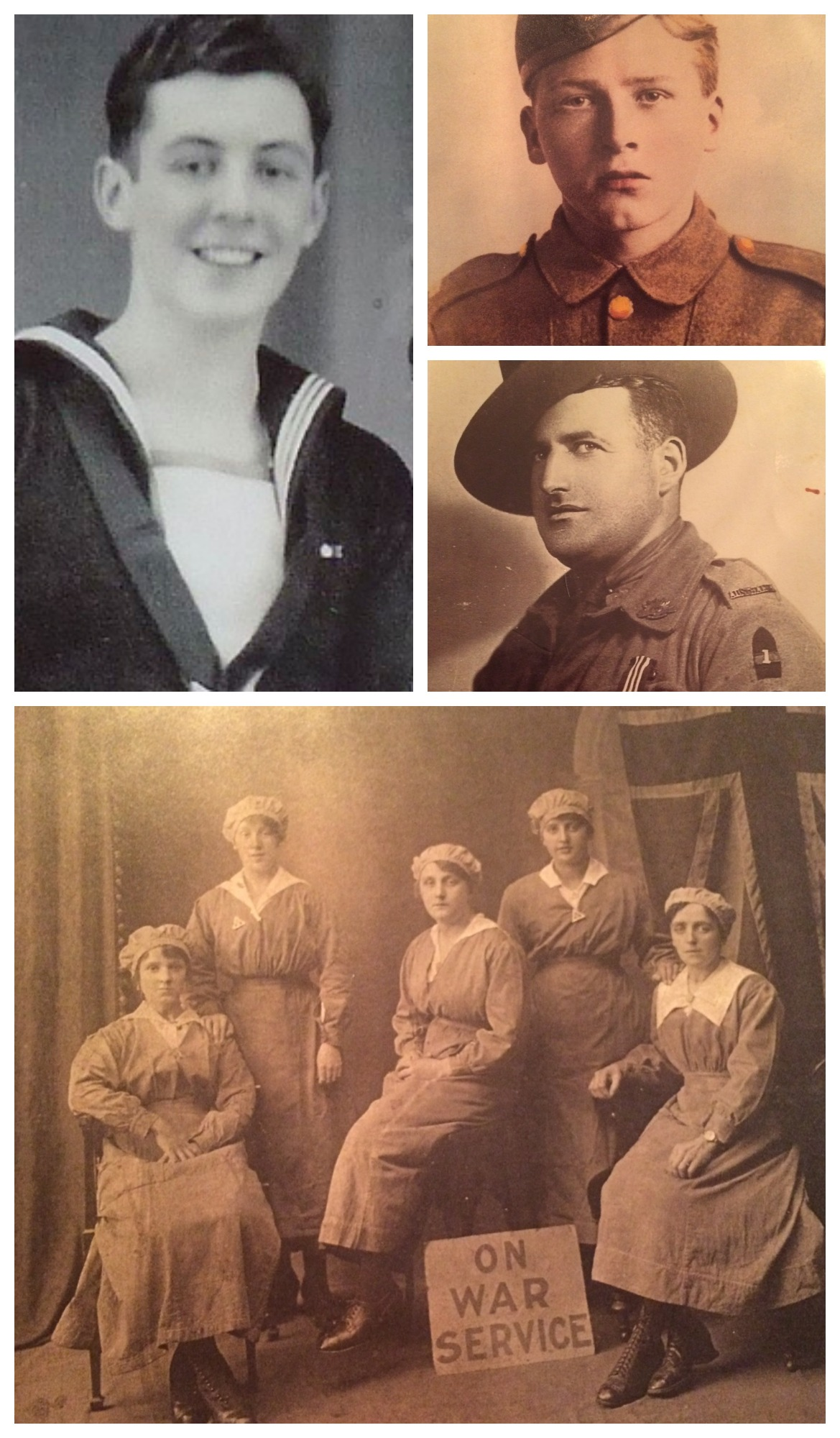 My Family Members Who Served In The War