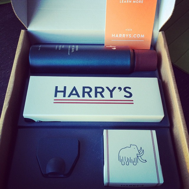 I haven't been this excited to shave in a long time. #harrys