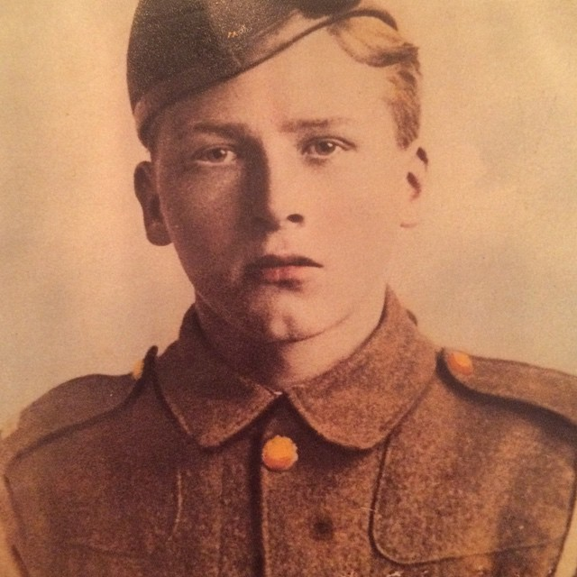 My great grandfather, John Keelty, was just 21 when he liberated Jerusalem in 1917. #lestweforget #worldwarone #remembranceday