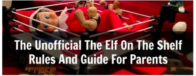 9 Rules For Elf On The Shelf