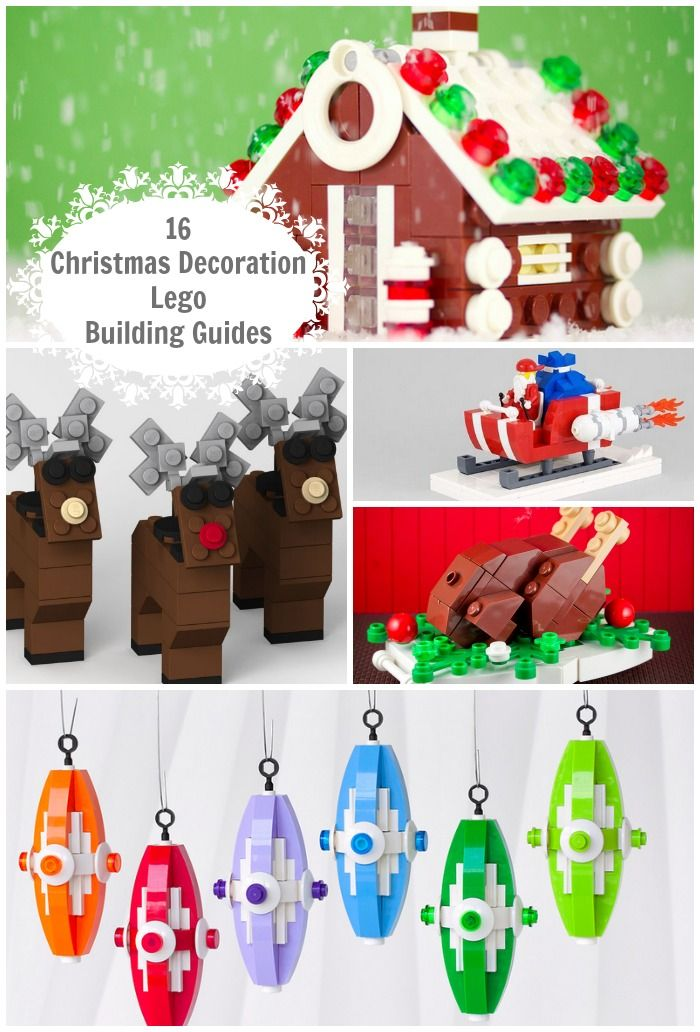 LEGO Christmas Ornament Building Guide