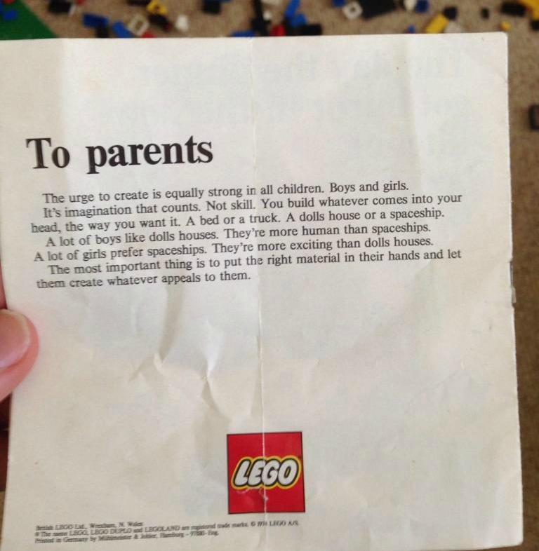 LEGO instructions 1974