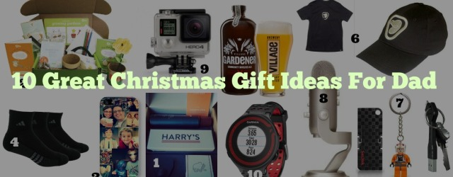 10 Great Christmas Gift Ideas For Dad