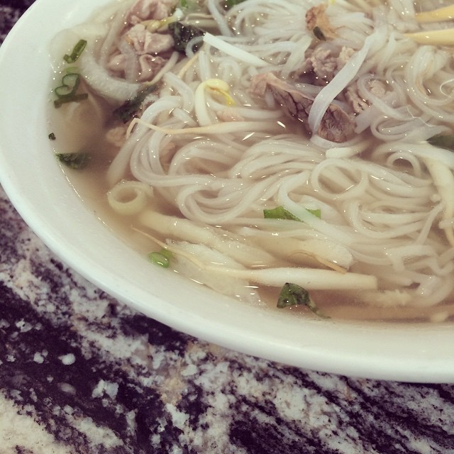 Pho how I've missed you. #omnomnom #lunch #pho