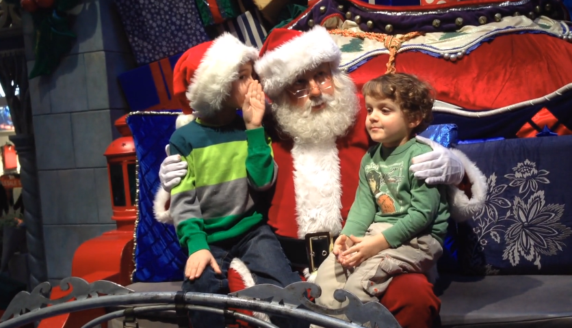 Where To See Santa In Calgary