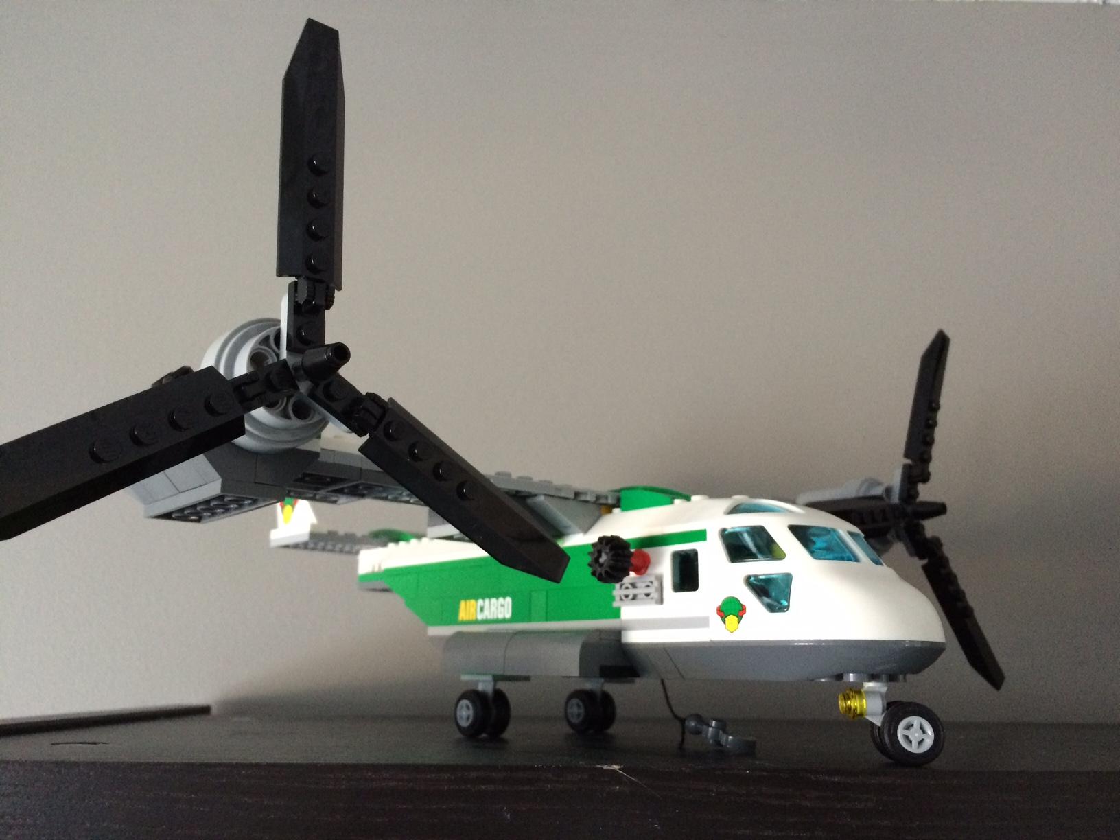 LEGO City Airport Cargo Heliplane