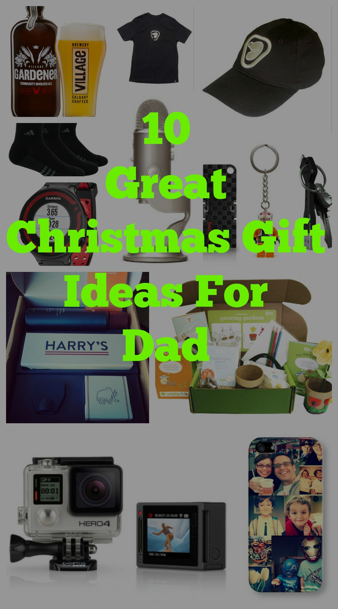 10 Great Christmas Gift Ideas for Dads