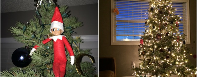 Our Elf On The Shelf Arrived