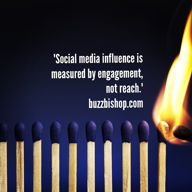 Deep thoughts as the Instagram cull of 2014 works its way through the industry. #instagram #bloggers #socialmedia #influence #cyberbuzz #buzzbishop