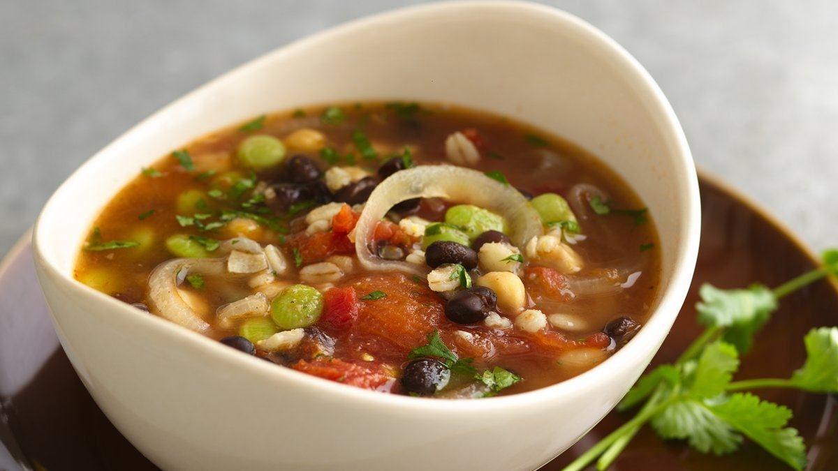 Bean and Barley Soup - Life Made Delicious