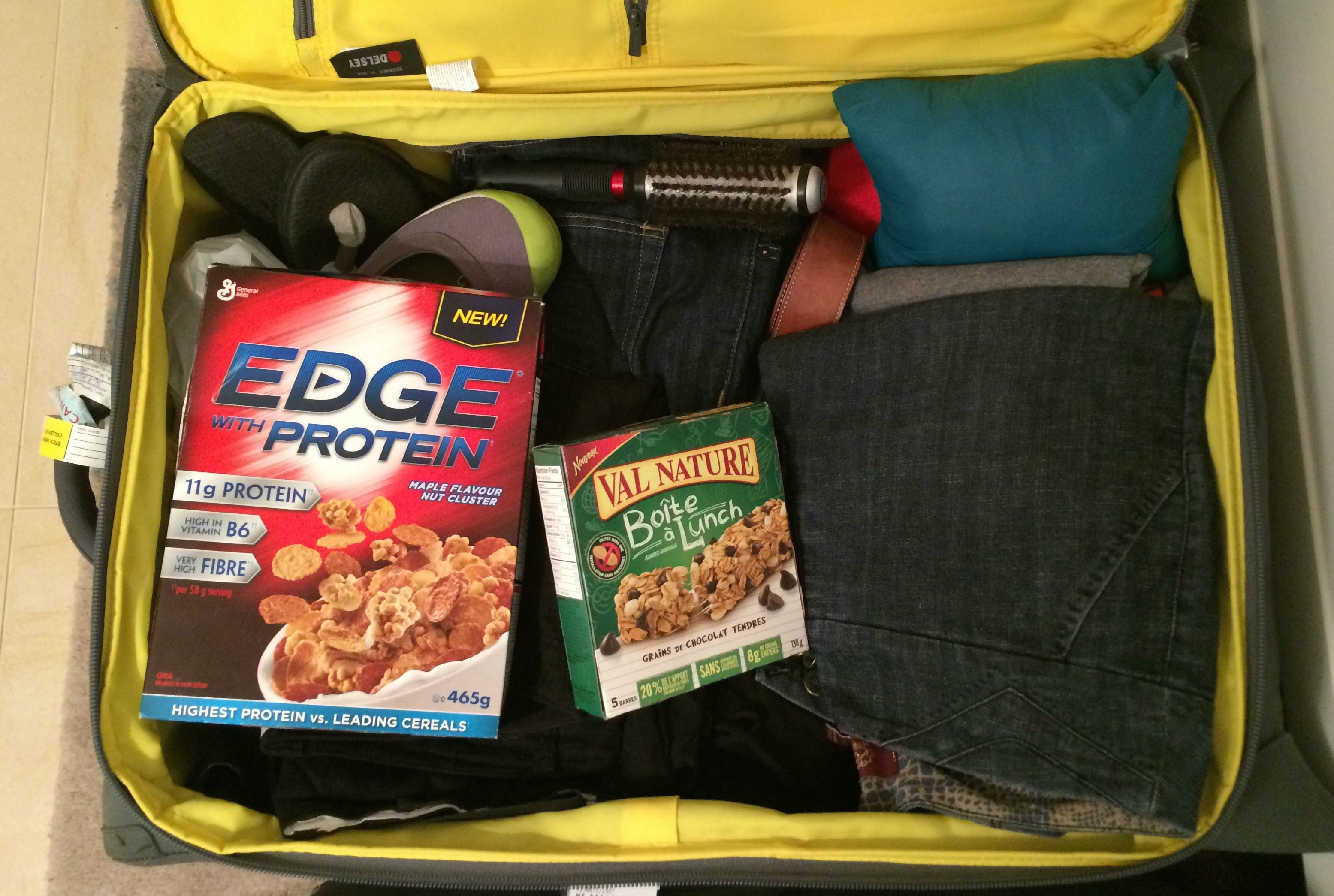 Pack Your Cereal When You Travel