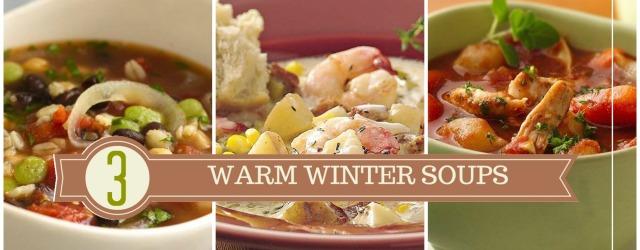 3 Warm Winter Soup Ideas