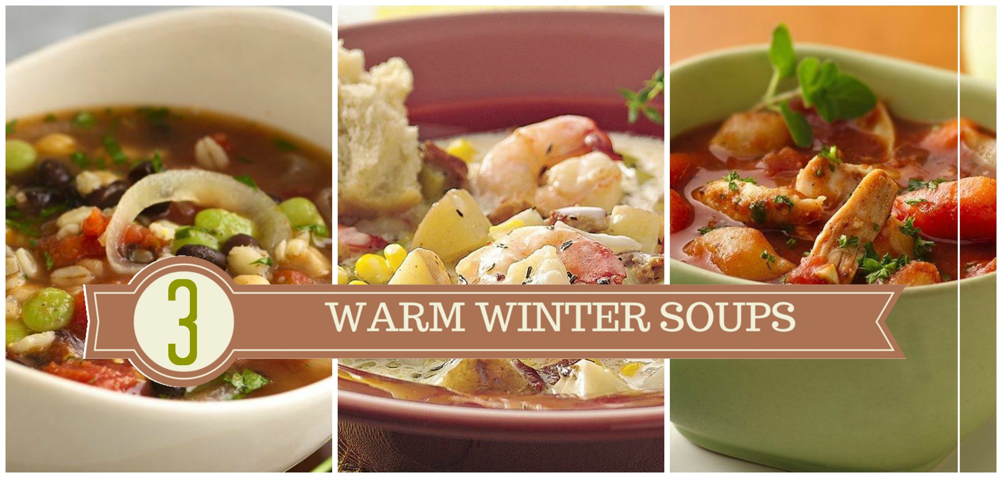 3 Warm Winter Soup Ideas