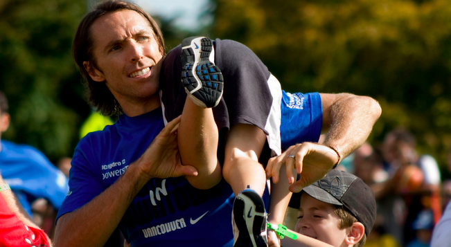 Steve Nash on parenting