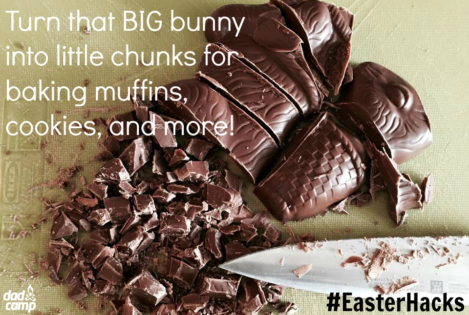 Chocolate Bunny Easter Hack