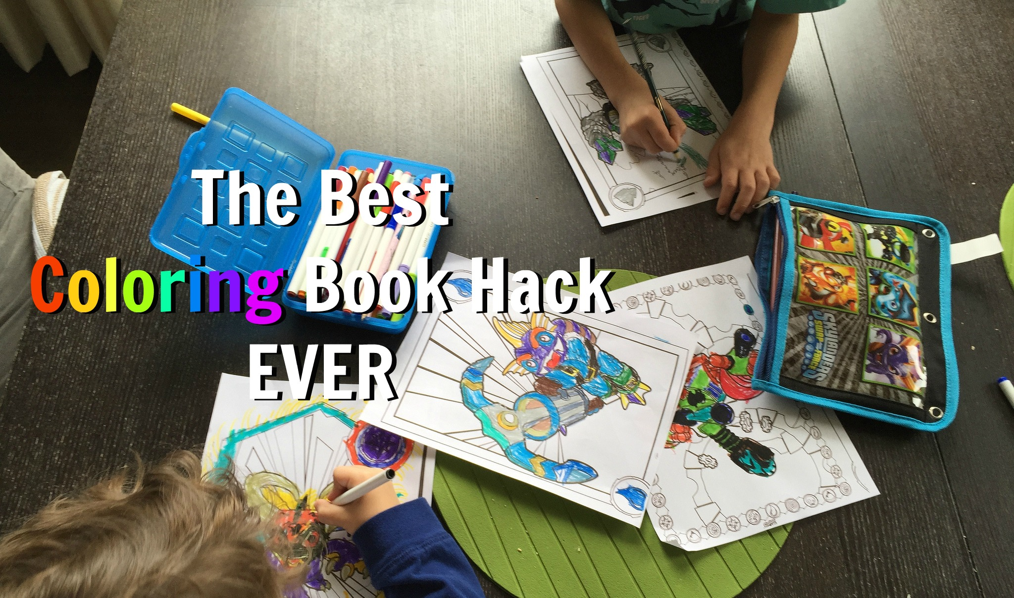 Best Coloring Book Hack Ever