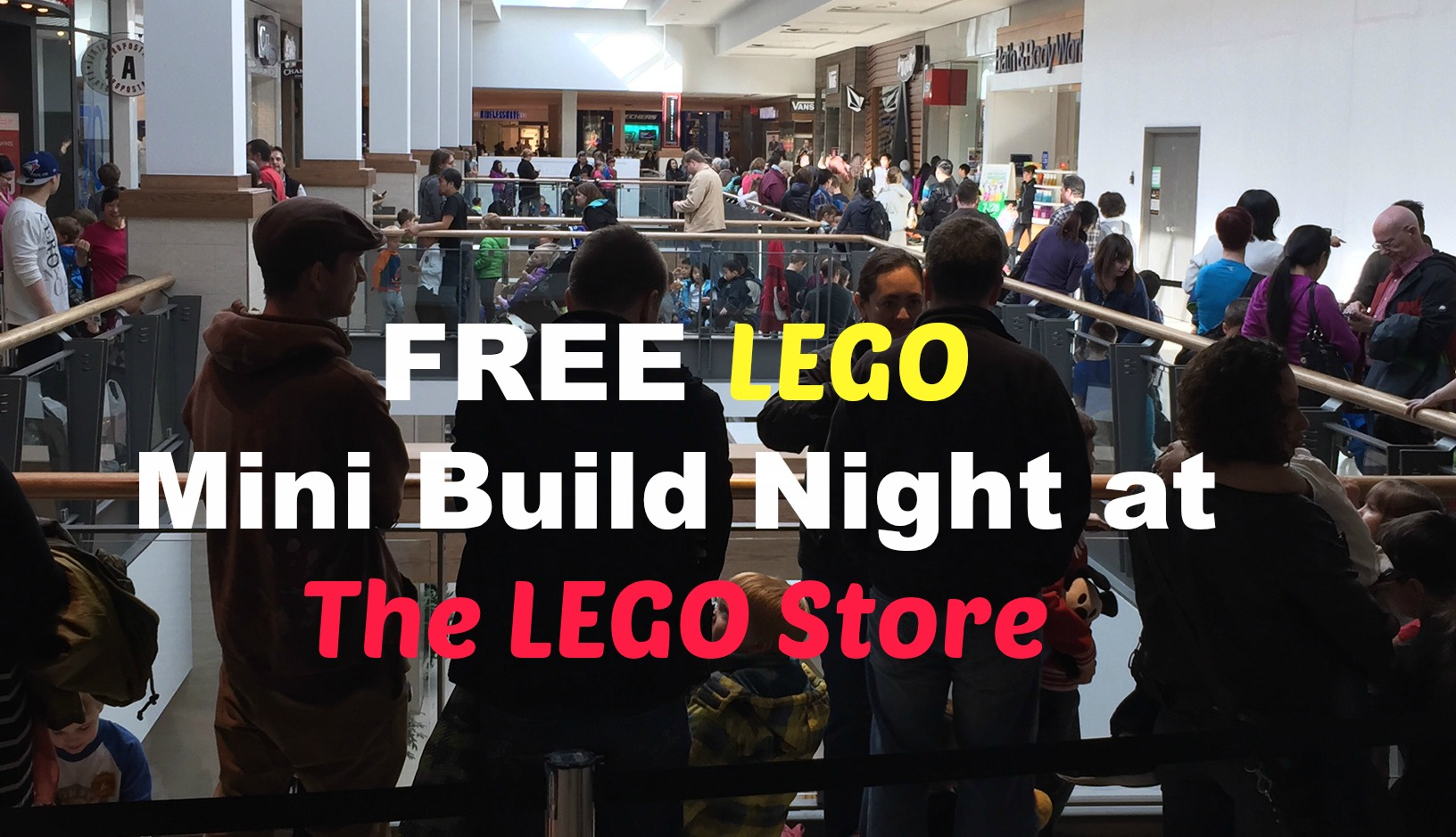 free lego mini build night