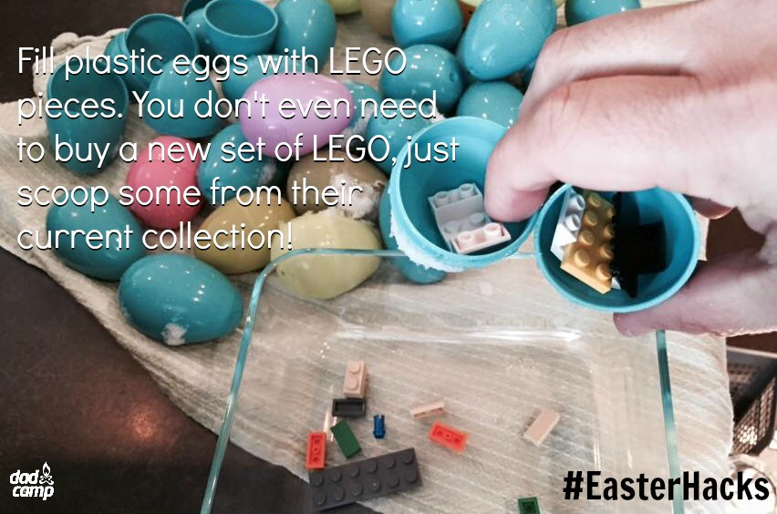 LEGO Easter Egg Parent Hack