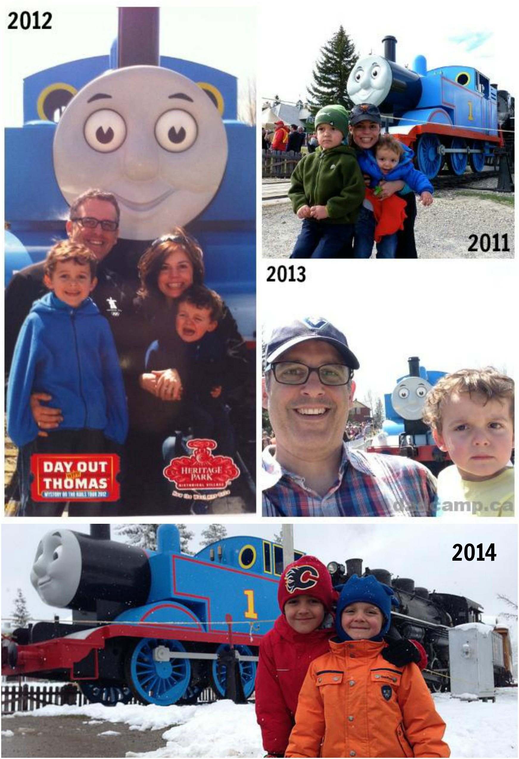 A Day Out With Thomas At Heritage Park
