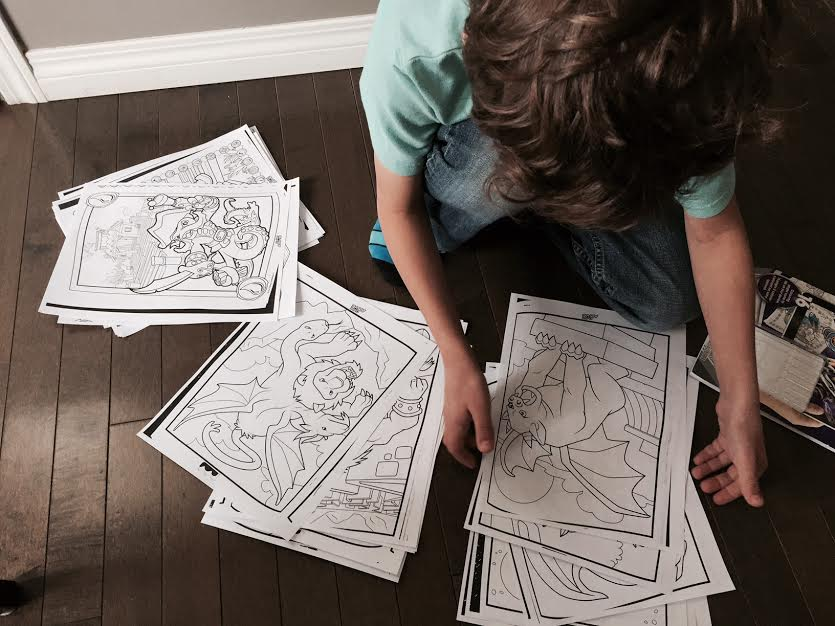 Extra Color Alive Coloring Pages