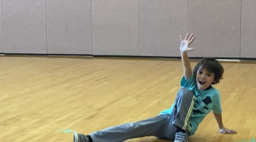 Zacharie in Dance Class