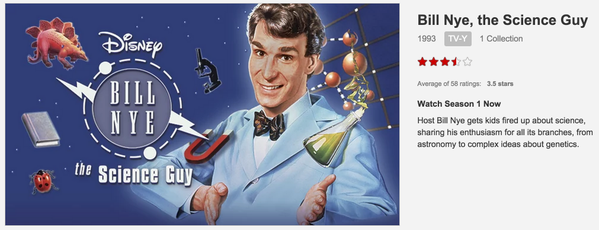 Bill Nye The Science Guy on Netflix