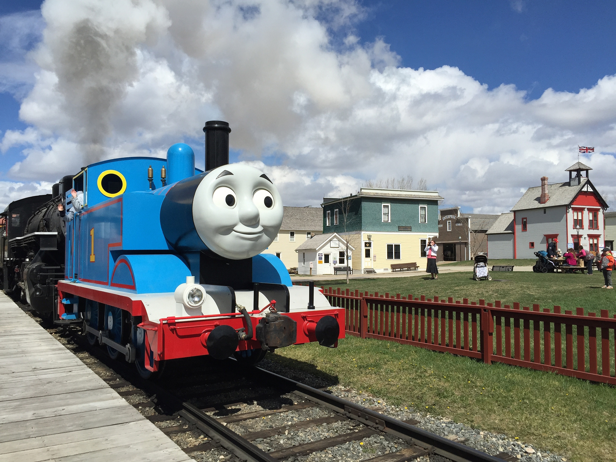 Day Out With Thomas At Heritage Park 2015