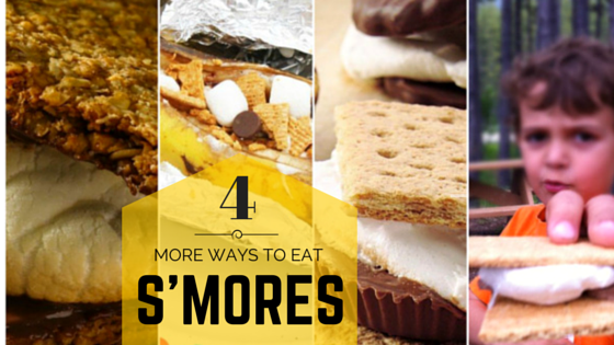 4 More Ways To Eat S'mores