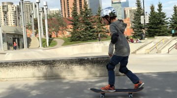 Zacharie Skateboarding