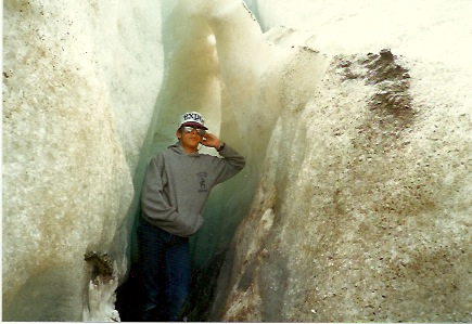 At The Columbia Icefield 1984