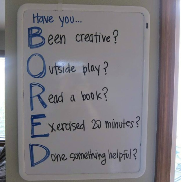 How To Stop Summer Boredom